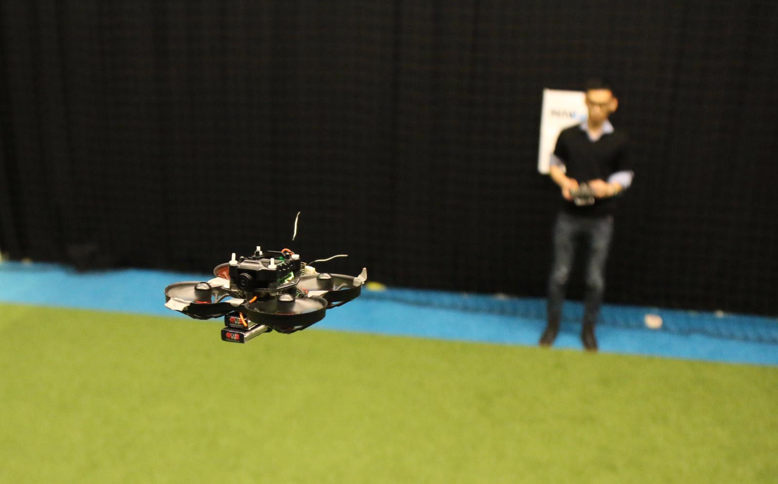 This 72-gram drone is able to race autonomously